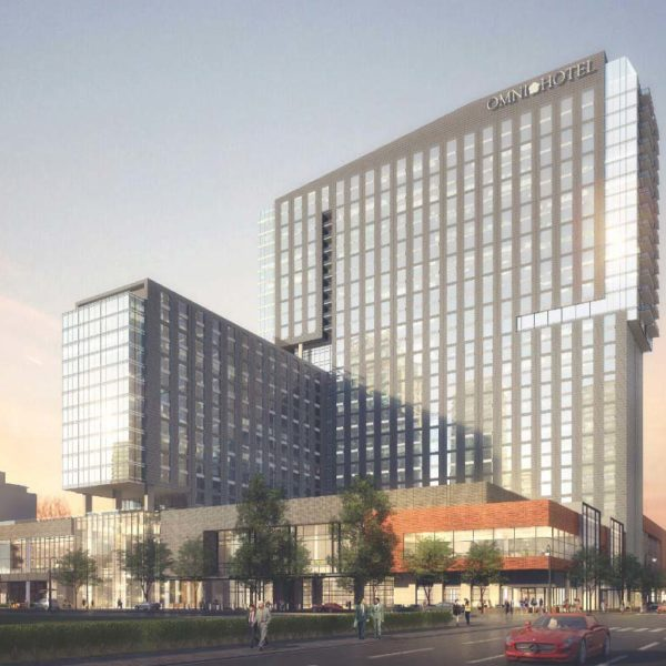 30 Stories with Dramatic Views at The Residences at Omni Louisville Apartments