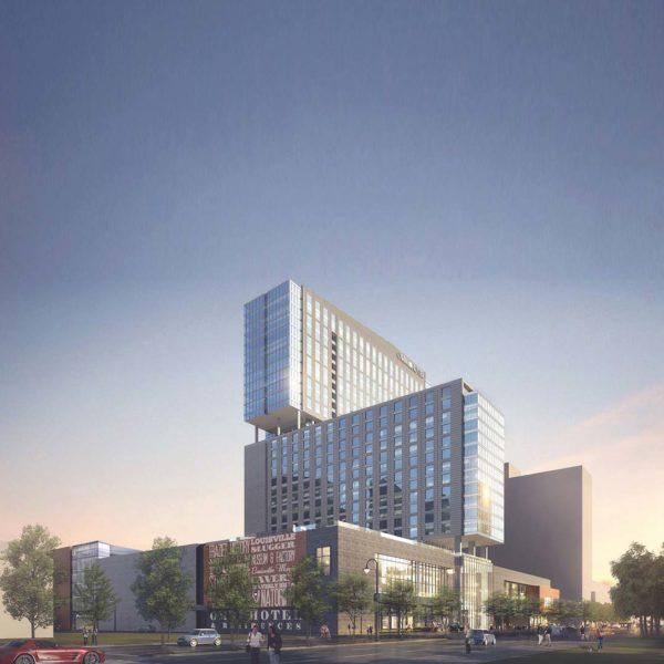 Luxury High-Rise Apartment Living