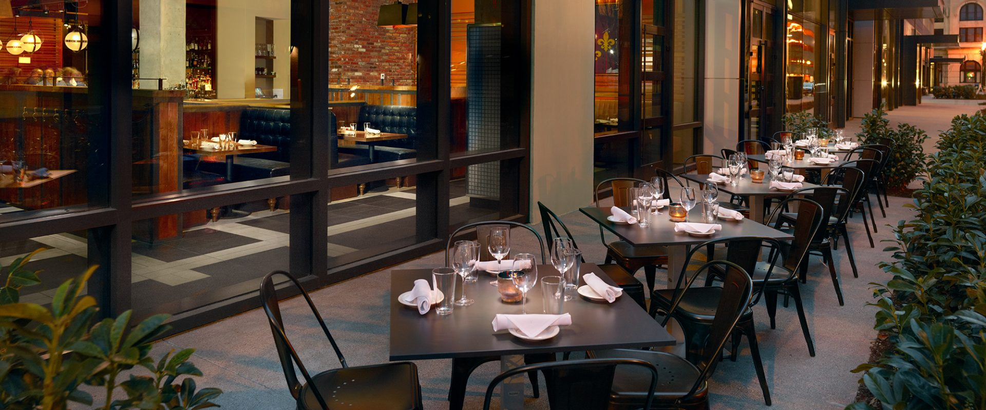 Fine Dining at The Residences At Omni Louisville Apartments in Louisville