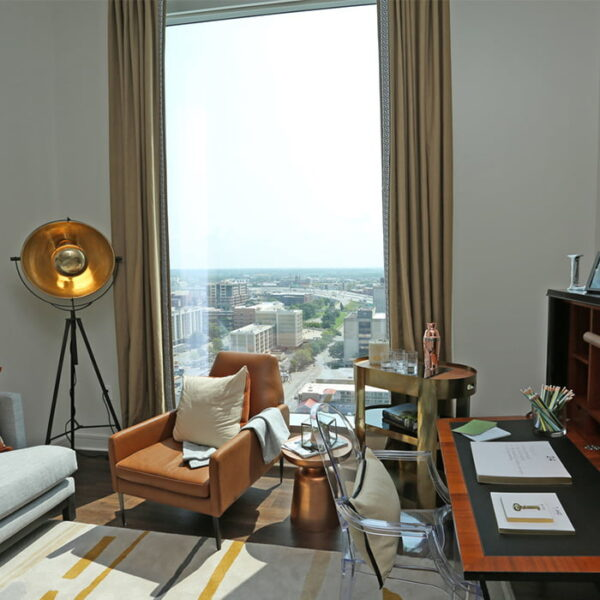 Apartments Louisville KY - Open Space Floor Plans with Stylish Interiors and City View
